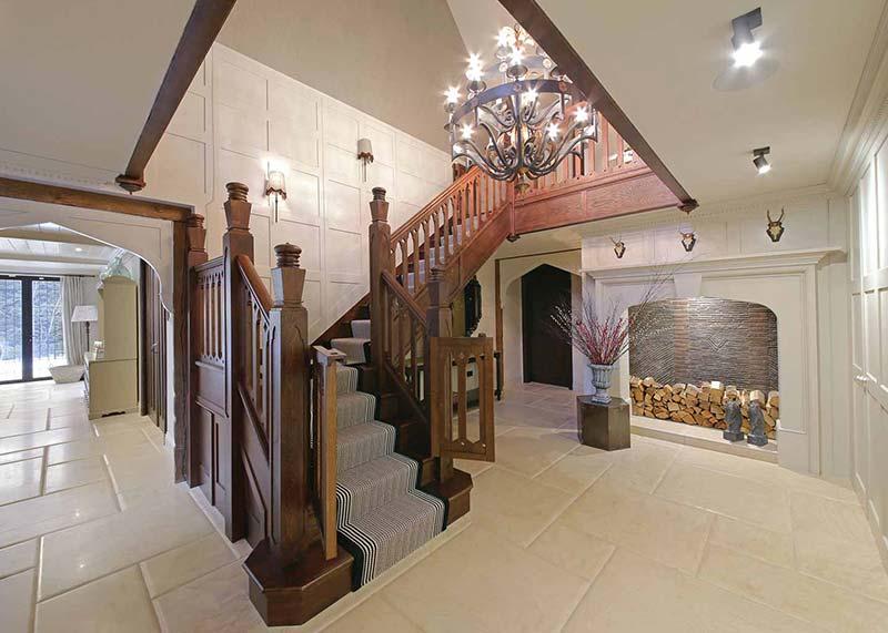 Creme Tumbled Limestone Floor Tiles