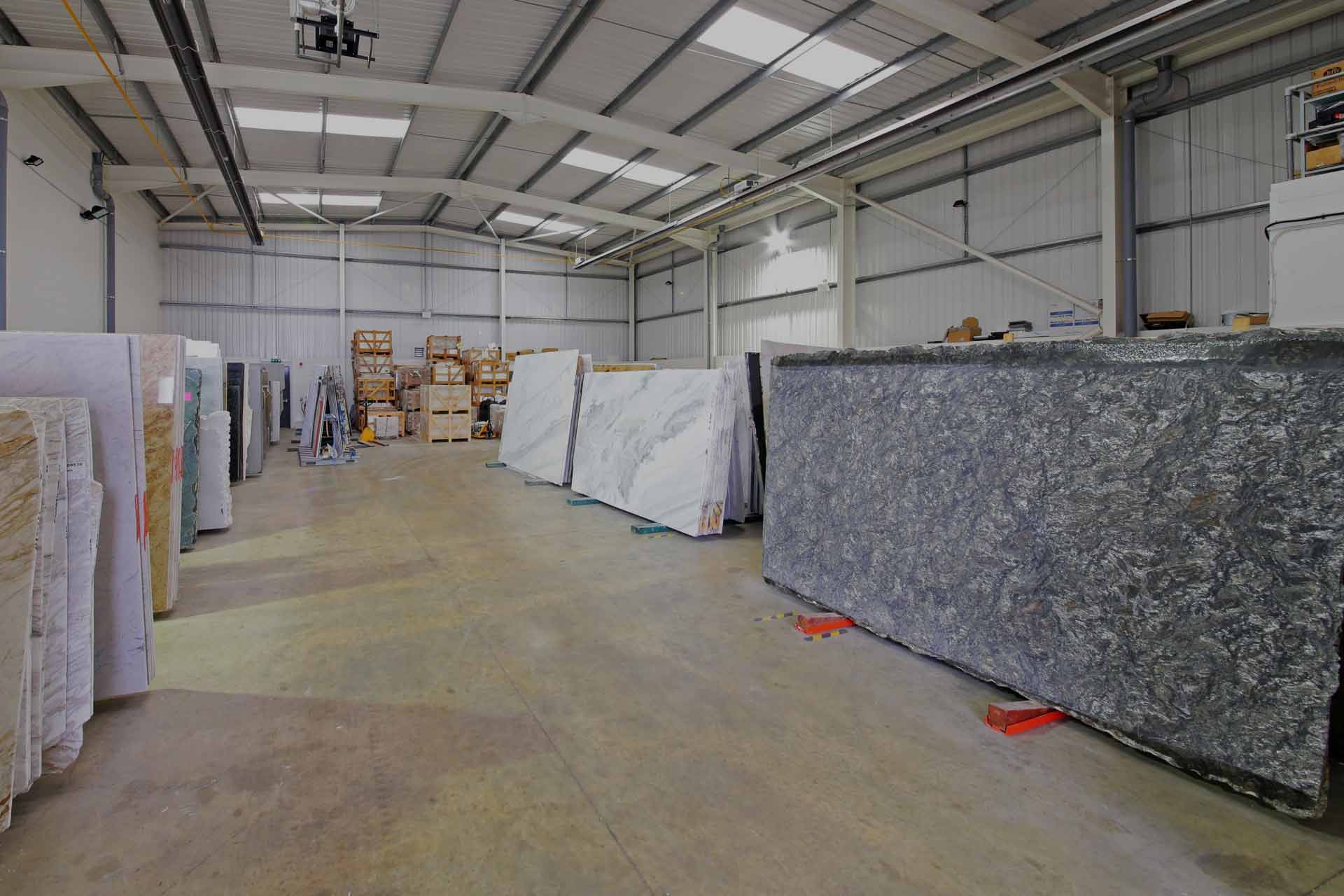 Wholesale stone distribution